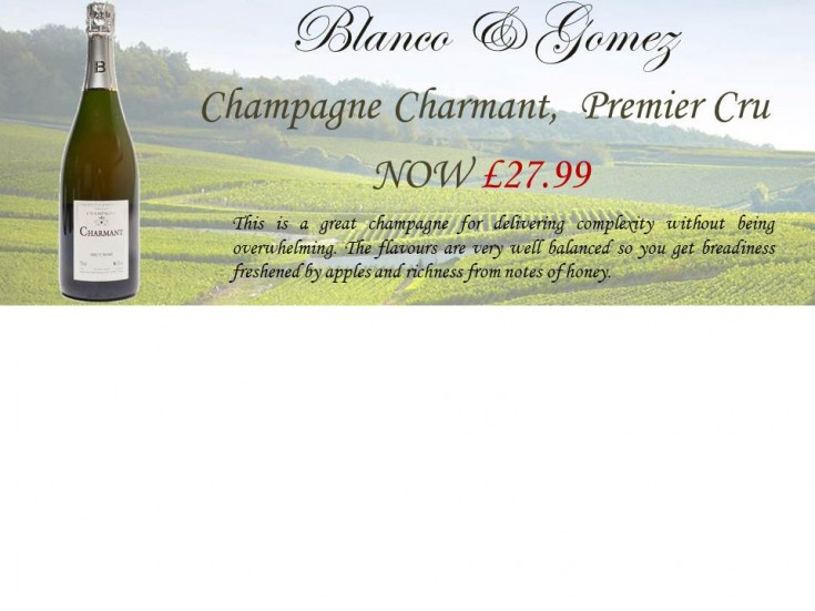 Champagne Charmant Promotion